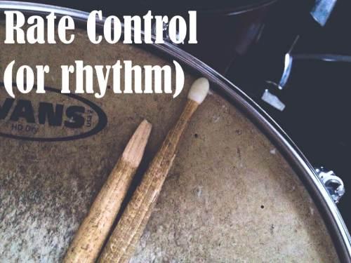 rate v rhythm